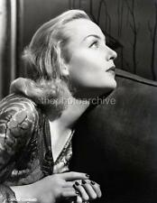 CAROLE LOMBARD HIGH RESOLUTION  Portrait PHOTO H932