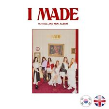 [NEW + SEALED!] (G)I-DLE I MADE 2nd Mini Album Girl Idle G-IDLE Cube K-pop UK