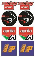 IP sticker Aprilia Racing Aufkleber 16x26 cm. Blatt 8 decals RSV RS 50 250 /179