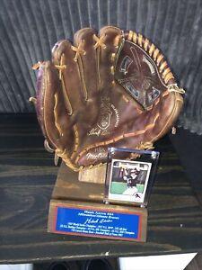 Hank Aaron Atlanta Braves Vintage Baseball Glove