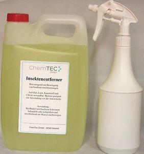 ChemTec Insektenentferner 5 Liter Kanister inkl. 1 Liter Sprühflasche