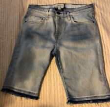 Current Elliott Women's Bermuda Jeans Shorts Size 28 Retail $198 EUC