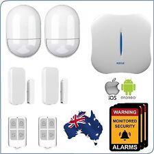 WiFi + PSTN Wireless Home Security DIY Burglar House Alarm System Android-iOS