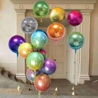 Shower 22 Inch Farbe des Farbverlaufs Ballon Party Dekor Folie Aluminium