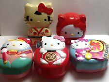Vintage Sanrio Hello Kitty 5 Obento Bako/Lunch Box *Japan
