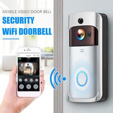 WiFi Video Doorbell Smart Phone Door Ring Intercom Security Camera PIR  ☆New d