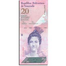 Billet Venezuela 20 Bolivarès 2009 P-91d NEUF/UNC