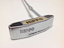 "GOLF PUTTER HIPPO MILLED FACE WITH POLYMER INSERT RIGHT HAND 35"" LONG DECENT  aa"