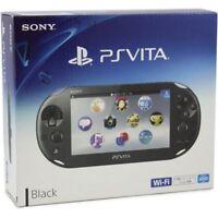 Brand New Sony Playstation PS Vita Wi-Fi PCH-2006 ZA11 Console Black *Con*