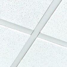 Armstrong Dune eVo Supreme Tegular Edge Suspended Ceiling Tiles 595*595 4 Tiles