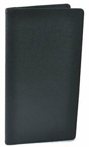 Auth Louis Vuitton Taiga Porte Valeurs Cartes Credit Green M30394 Wallet D8153