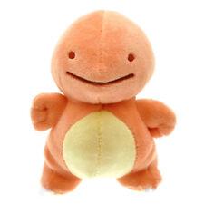 "Transform Ditto Charmander Pokemon Fire Dragon Plush Soft Toy Stuffed Animal 5"""