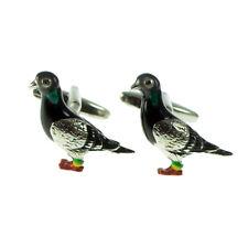 Hgh Detail Pigeon BREEDER BIRD LOVER FANCIER MENS CUFFLINKS BIRTHDAY PRESENT