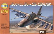Osipovič SUCHOJ su-25 UB/UBK (Peruviano, macedone, iraniano, SOVIETICA MKGS) 1/48 SMER
