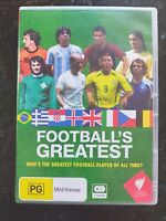 Football's Greatest [ 3 DVD Set ] Region 4, FREE Next Day Post from NSW