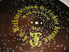 """Am Weihnachtsbaum die Lichter brennen Polyphon Platte 28 cm christmas disc 11"""""""
