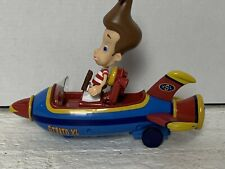 2001 Jimmy Neutron Strato Xl Rocket With Figure! *Great Condition!*