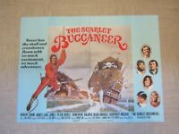 Vintage Movie poster - Original - The Scarlet Buccaneer - 101 x 75 cm - 1958