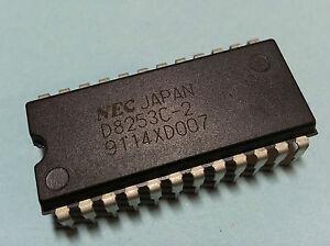 D8253C-2 PIO (Program Interupt Timer Chip) 24Pin