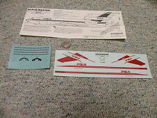Scale-master decals 1/144 Boeing 727-14 Pacific Southwest Airline PSA   QQ2