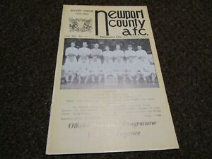 NEWPORT COUNTY  v  MANCHESTER CITY  1962/3  FOOTBALL LEAGUE CUP 3rd ~ OCT 24th