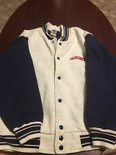 Vintage Doral Cigarettes Varsity Full Button Mens Jacket Large L