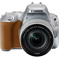 Canon EOS 200D / Rebel SL2 DSLR Camera with 18-55mm Lens (Silver)!! BRAND NEW!!