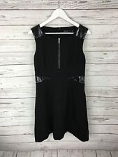 KAREN MILLEN Party Dress - Size UK14 - Black - Great Condition