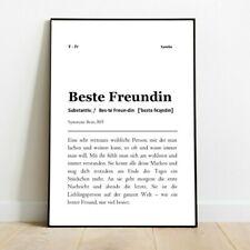 """Spruch-Poster Definition """"Familie"""" Geschenk Küche A3 Wand-Deko für den Rahmen"""