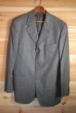 """Cerutti 1881 Cashmere & Wool Grey Check Sports Jacket Blazer Made in Italy 40"""""""