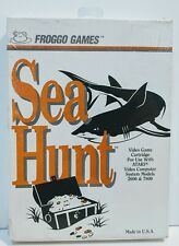Froggo Games Atari 2600 & 7800 Sea Hunt Video Game Cartridge Vintage NEW SEALED