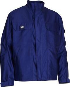 Wenaas 43807 Flame Retardant Jacket Thick Heavy Duty Mens Work Wear Coat