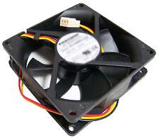 HP 12v DC 0.65a 80x25mm 3-Wire Fan New PVA080G12Q 3-Pin Foxconn New Pull