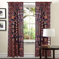 Indian Mandala Door Window Decoration Curtain Drape Sheer Room Scarf Valance Se
