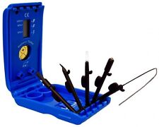 Hearing Aid Cleaning Kit with Battery Tester and Holder - 6-in-1