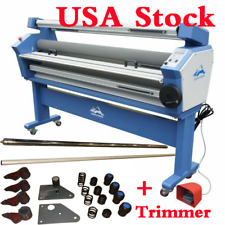 "USA Stock 110V 55"" Full-auto Cold Laminator Wide Format Laminating Machine"