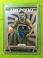 ZION WILLIAMSON PANINI PRIZM ROOKIE CARD JERSEY #1 PELICANS SP RC  2019-20 Prizm