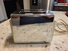 Vintage Sunbeam T-45 Chrome Toaster TESTED & WORKING!!!