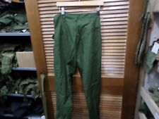 2 PAIR SWEDISH MILITARY BDU PANTS-NEW CONDITION !   29 INCH WAIST 30 1/2 INSEAM