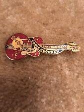 Hard Rock Cafe San Francisco Dead Rocker Eddie Cochran Guitar Pin 3LC Series 3