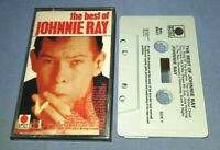 JOHNNY RAY THE BEST OF JOHNNIE RAY cassette tape album T7808