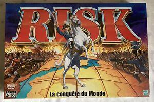 HASBRO PARKER 2000 Jeu Société NEUF scellé Cellophane RISK LA CONQUÊTE DU MONDE