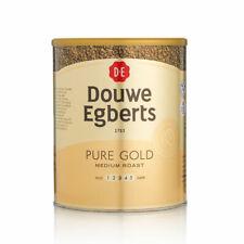 DOUWE EGBERTS PURE GOLD MEDIUM ROAST FOIL SEALED TIN 750G