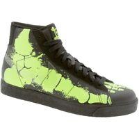 354758-091 Nike Big Kid Blazer Mid Premium -Glow in Dark Skeleton Feet Black Cle