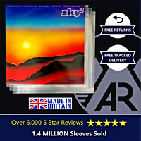 """200 LP Album 12"""" 250g Plastic Polythene Record Sleeves - Outer Vinyl Covers"""