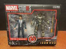 Marvel Legends Studios Iron Man Tony Stark & Mark I 2 Pack (Box Damage) KJ008
