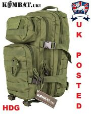 KOMBAT UK Military ASSAULT PACK RUCKSACK British Army 28L OG Patrol Day Sack TA