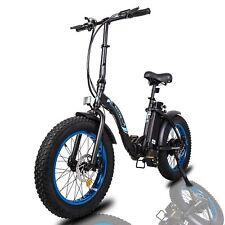 "20"" 36V 500W Electric Fat Tire Bike Beach Bicycle City Ebike Folding 7 Speed"