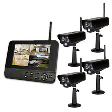 4 Kamera System Comag SecCam11 IP Abruf Videoüberwachung Funk Überwachungssystem