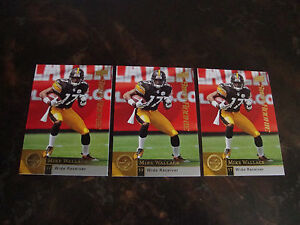 2009 Upper Deck Football---Rookies---#262 Mike Wallace---Lot Of 3